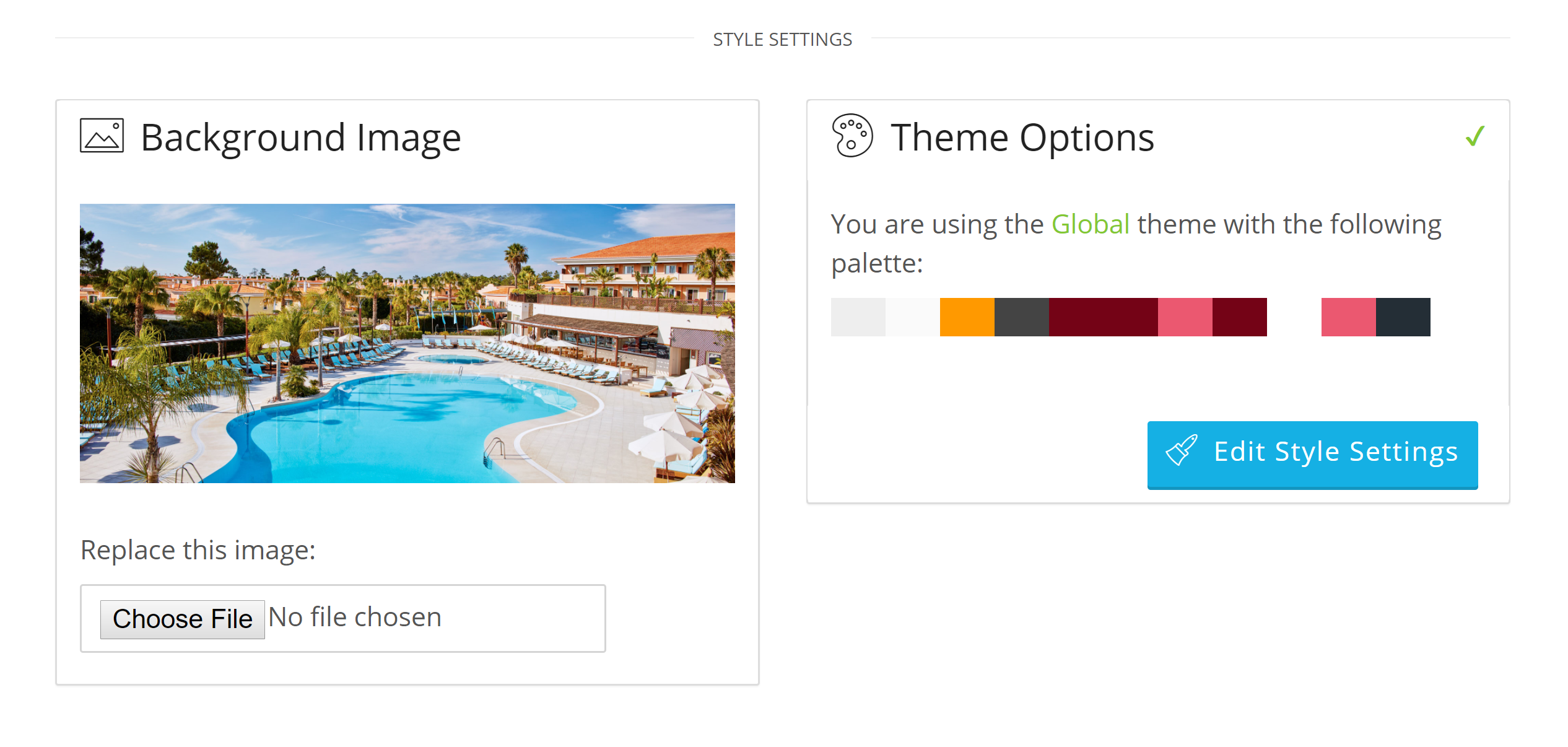 How to Customize your booking engine to fit your hotel brand Bellebnb.com Hotel Management Software in the Cloud