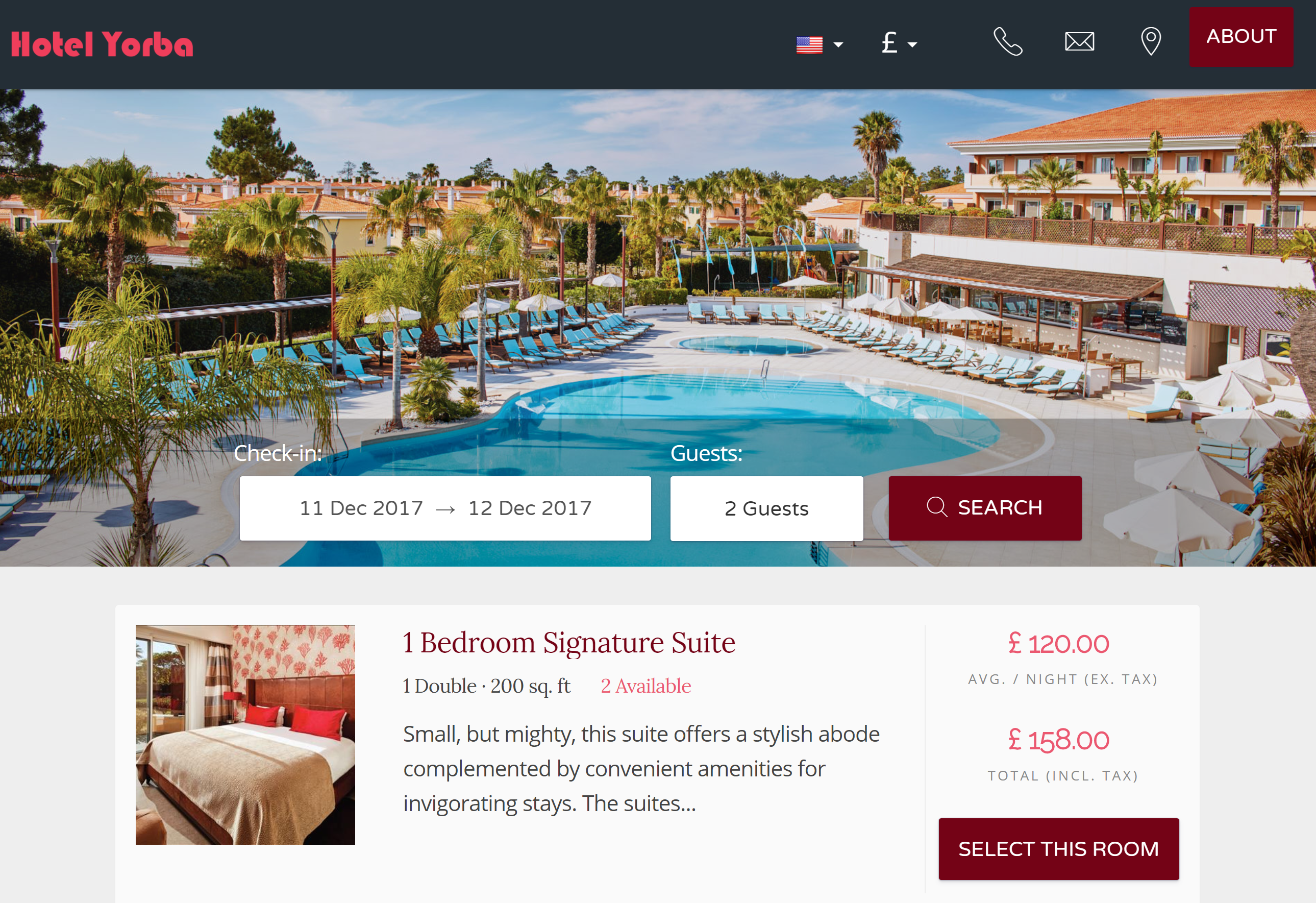 This is your hotel's website where guests can reserve directly with you. If you already have your own domain, you can embed your booking engine to accept bookings from your existing website.